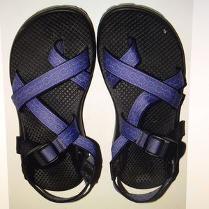 Chaco Shoes - CHACO z/2 purple toe loop sandals